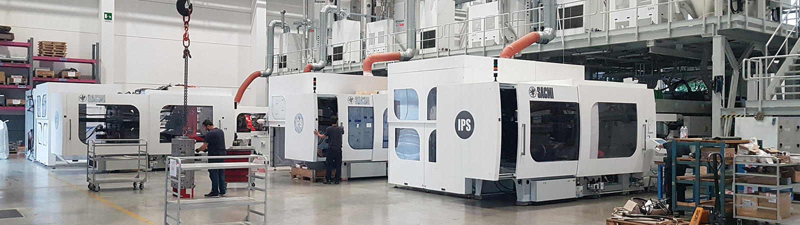 SACMI IPS – Performance, flexibility and sustainability in preform manufacturing