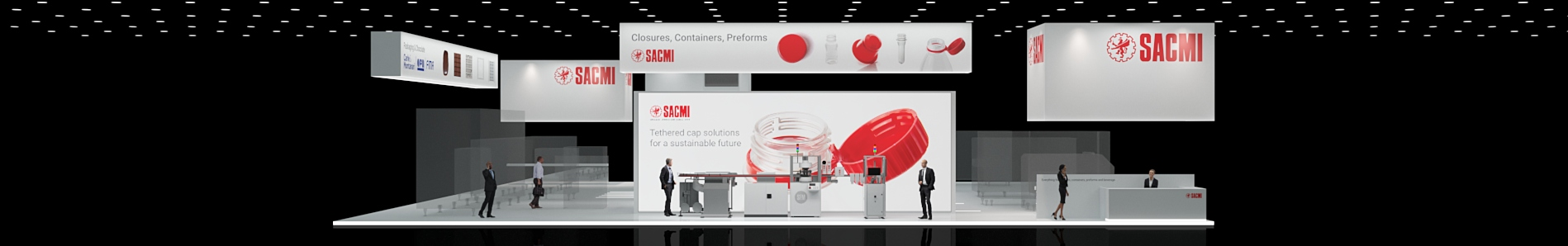 SACMI Closures Containers Preforms Interpack Virtual Tour