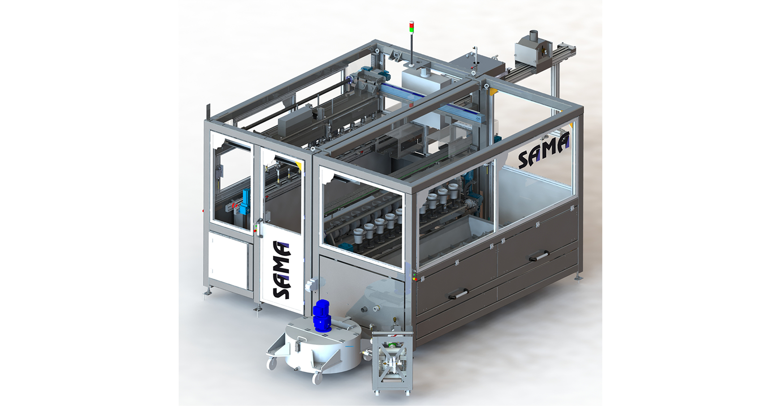 MONO 10T Evolution from SACMI-SAMA; <br>the very latest in automatic dip glazing technology </br>